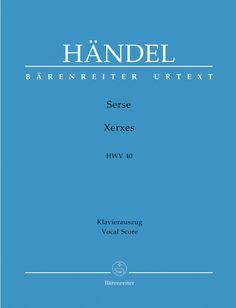 Handel: Xerxes - Vocal Score. £23.00