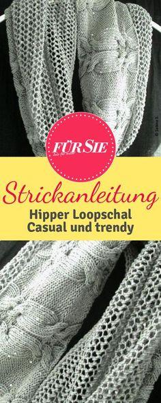 166 besten DIY - Stricken - Schals Bilder auf Pinterest in 2018 ...