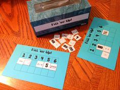 Kindergarten and Mooneyisms: Fill 'er Up Math Game and Freebie!