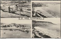 St.Ives - Multiview, St Ives, Cornwall, 1958 - Valentine's RP Postcard