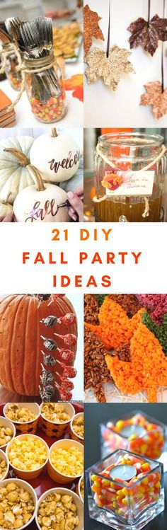 These 21 DIY Fall Party Ideas Are The CUTEST! I love how easy and fun they are to try!