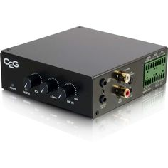 Cables To Go C2G 25/70V 50W Audio Amplifier - Plenum Rated #40881