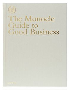 Book Monocle Guide to Good Business | Klevering