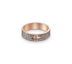 Kelly Hermes ring in rose gold