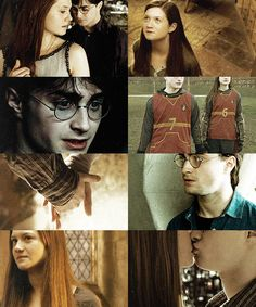 """Harry and Ginny"" Book Hinny is so much better than movie Hinny!"