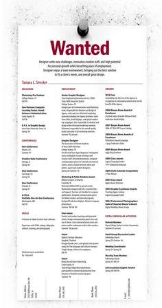 Unique Resumes 48 Best Creative Resumes Images On Pinterest  Curriculum Resume .