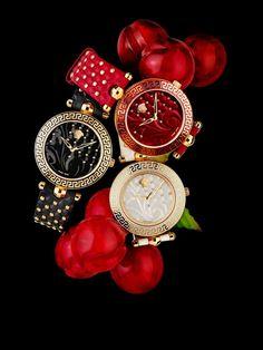 The Versace Vanitas watches. #VersaceWatches #Versace