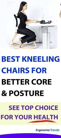 Our reviews and top picks for the best ergonomic kneeling chairs to maintain a natural curve in your lower back for good posture, and to remove pressure and put your entire back at ease