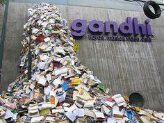 green design, eco design, sustainable design, Alicia Martin, book art, recycled books, book sculptures, Biografies, book sculpture