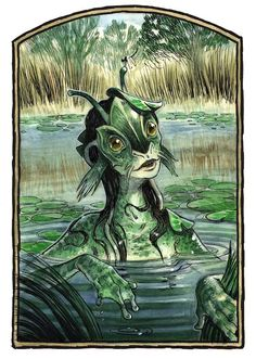 Merrows Are Irish Merpeople Mermaids Deepones Fish People