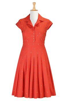 Sundresses For Women, Size 30W Dress Shop womens designer dresses - Tops and Dresses for Women | eShakti.com