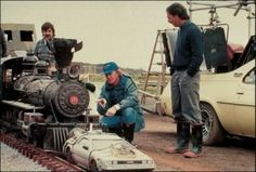 Behind the scenes of making 'Back to the Future III'.