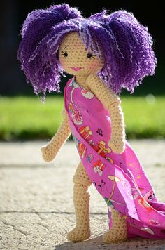 #amigurumi #doll http://www.flickr.com/photos/flockiewiewaldi2007/