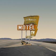 El Morocco Motel. Photo by Ed Freeman – Desert Realty series.