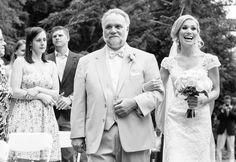 wedding ceremony at @hardyfarmmaine