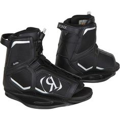 Wakeboard ready with the Ronix Divide Wakeboard Bindings @ evo $219