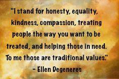-Ellen Degeneres