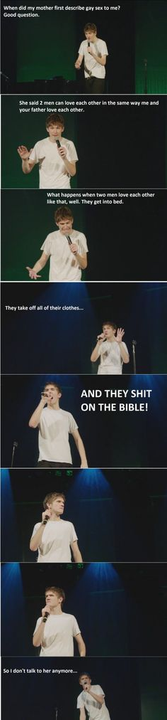 Bo Burnham. So good.