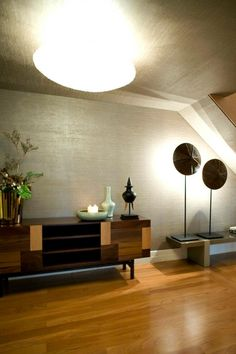 Private House 1 - Living Room entrance  Sideboard Form, Ettero Collection