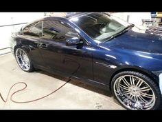 "SEXY Bmw 6 Series. 22"" Asantis.. MagnaFlow Exhaust Bmw 650i, Bmw 6 Series, Exhausted, Sexy, Car, Automobile, Autos, Cars"