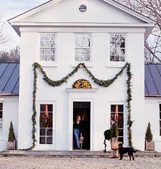 festive facade