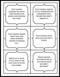 SOCIAL SKILLS: ANGER MANAGEMENT 30 CARD SET + ACTIVITIES -
