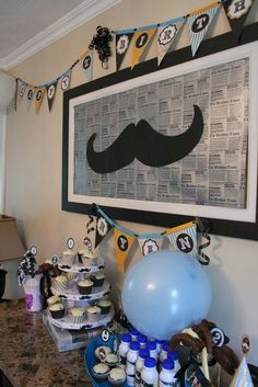 "Photo 7 of 21: Little Man Mustache Bash / Birthday ""Ryan's 2nd Birthday"" 