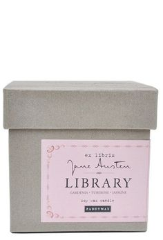 Library Collection Soy Candle