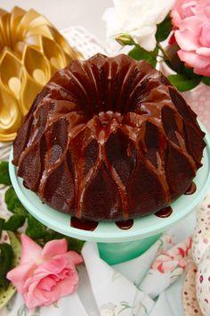 bundt cake chocolate y café 7