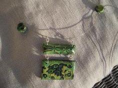 Collana realizzata in fimo.  Handmade Jewerly - DIY  Paste / argille polimeriche / sintetiche  Polymer clay