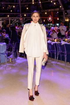 The Olivia Palermo Lookbook : Olivia Palermo at the Battery Conservancy Gala in ...