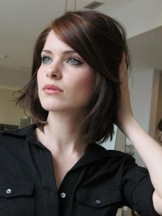 Perfect blend for a beautiful brunette shade. Colorist - the amazing Beth Minardi.