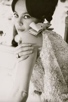 Leslie Caron (ph. Norman Parkinson)