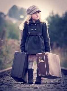 Photograph Untitled by Terje Madsen on Hobby Photography, Photography Poses, Girl Photo Poses, Girl Photos, Girl Train, Modern Kids, Travel Memories, Beautiful Children, Cute Kids