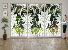 pictures of sliding glass door window treatments 20 Unique Window Treatments, Sliding Door Window Treatments, Window Coverings, Sliding Barn Door Hardware, Sliding Glass Door, Glass Doors, Sliding Doors, Door Latches, Etched Glass Door
