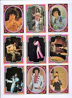 Osmonds bubblegum cards - 1973