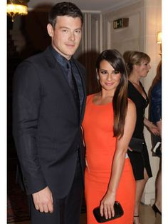 Lea Michele and Cory Monteith were spotted at Paris Fashion week looking as cute as ever!