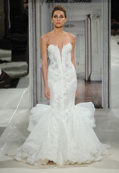 Pnina Tornai Spring 2014 Wedding Dresses...Everything but the weird fabric on the sides and back?