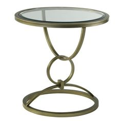 I pinned this Circles End Table from the Zoe Feldman Design event at Joss & Main!