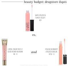 Beauty on a budget: drugstore dupes for NARS 'Turkish Delight' Lipgloss