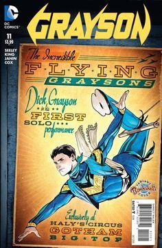 Grayson (2014) Issue #11