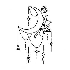 Tattoo Outline Drawing, Doodle Tattoo, Outline Drawings, Tattoo Drawings, Body Art Tattoos, Small Tattoos, Crow Tattoos, Ink Tattoos, Tatoos