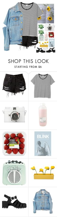 """Colors🌼"" by rxdrxine ❤ liked on Polyvore featuring Monki, Davines, Blink, Dot & Bo and Retrò"