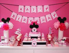 Minnie Mouse Party Pink Party