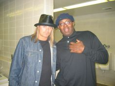 Devine Taylor and Kid Rock  at Cobo Arena 2006  What a great year