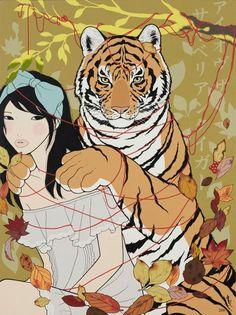 """""""アイオブザサイベリアンタイガー/AI OBU ZA SAIBERIAN TAIGAA (Eye Of The Siberian Tiger)"""", Yumiko Kayukawa"""