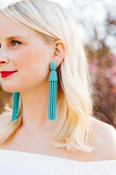 Oscar de la Renta #earrings #accessories