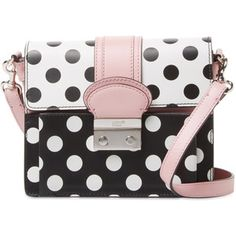RED Valentino Women's Polka Dot Leather Shoulder Bag
