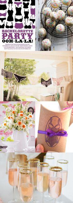 Lingerie Theme Bachelorette Party Inspiration Board | Ultimate Bridesmaid
