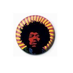 Pyramid International Rozet - Jimi Hendrix (Psychedelic) - 25 mm Rozet - BunlardanIstiyorum.com